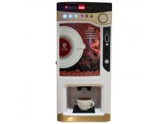 投币台式三料温热金咖啡机