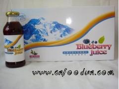 喜之蓝野生蓝莓果汁