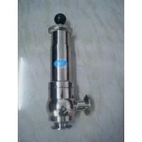进口卫生级快装安全阀|卫生级安全泄压阀
