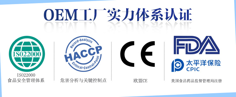 OEM工厂实力体系认证